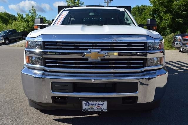 2016 Silverado 3500 Crew Cab DRW 4x4, Monroe Stake Bed #36783 - photo 8