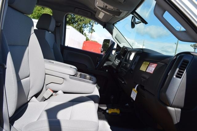 2016 Silverado 3500 Crew Cab DRW 4x4, Monroe Stake Bed #36783 - photo 12