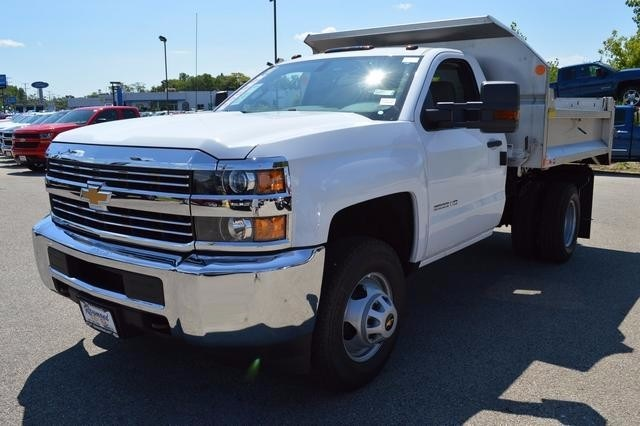 2016 Silverado 3500 Regular Cab 4x4, Monroe Dump Body #36983 - photo 7