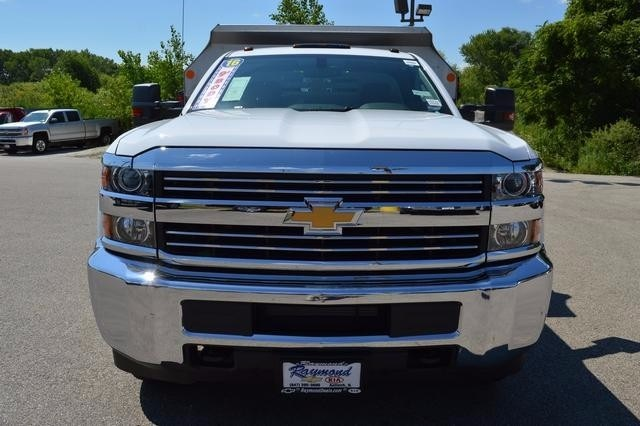 2016 Silverado 3500 Regular Cab 4x4, Monroe Dump Body #36983 - photo 8