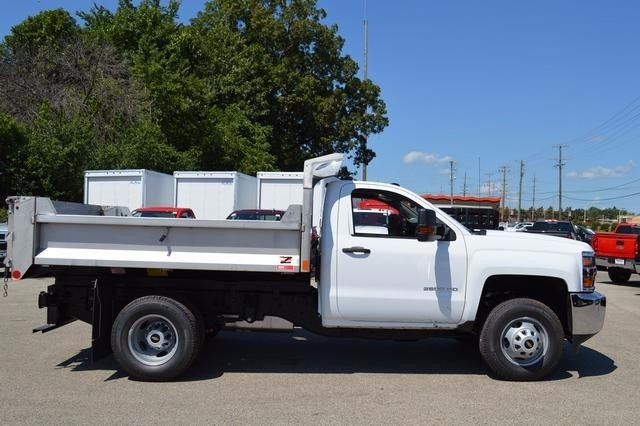 2016 Silverado 3500 Regular Cab 4x4, Monroe Dump Body #36983 - photo 3