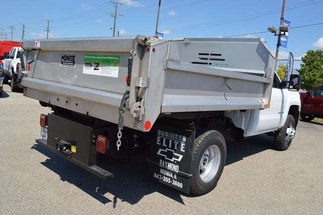 2016 Silverado 3500 Regular Cab 4x4, Monroe Dump Body #36983 - photo 2