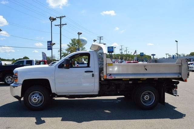 2016 Silverado 3500 Regular Cab 4x4, Monroe Dump Body #36983 - photo 6