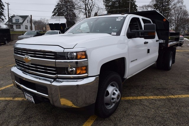 2016 Silverado 3500 Crew Cab, Dump Body #37509 - photo 7