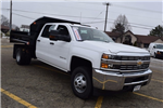 2016 Silverado 3500 Crew Cab, Dump Body #37509 - photo 1
