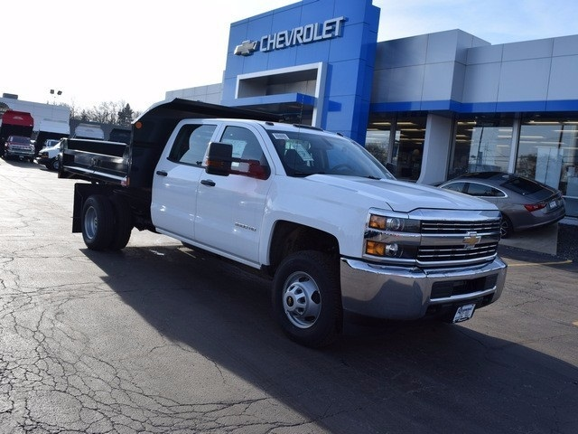 2016 Silverado 3500 Crew Cab 4x4, Dump Body #37524 - photo 3