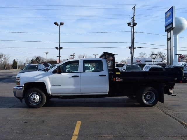 2016 Silverado 3500 Crew Cab 4x4, Dump Body #37524 - photo 8