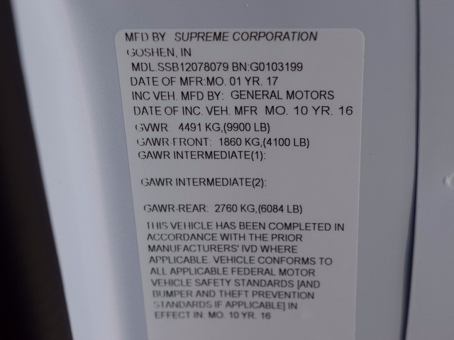 2017 Express 3500, Supreme Service Utility Van #37795 - photo 30