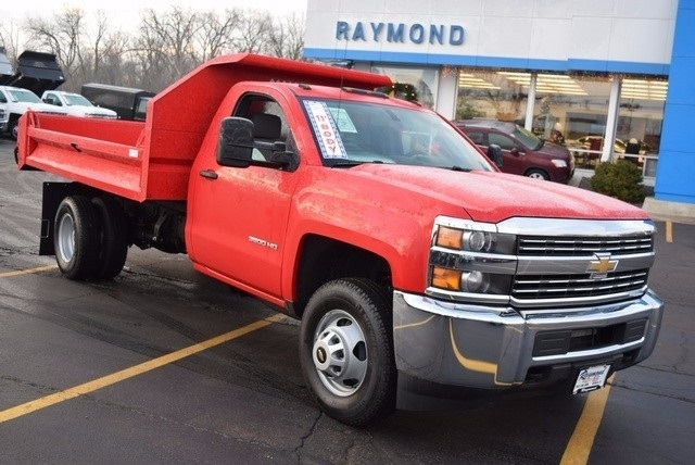 2016 Silverado 3500 Regular Cab 4x4, Dump Body #37809 - photo 3