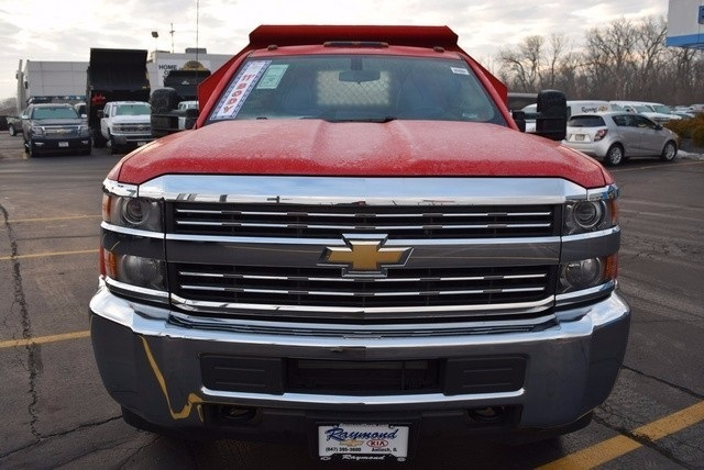 2016 Silverado 3500 Regular Cab 4x4, Dump Body #37809 - photo 5