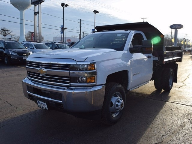 2017 Silverado 3500 Regular Cab, Dump Body #37832 - photo 3