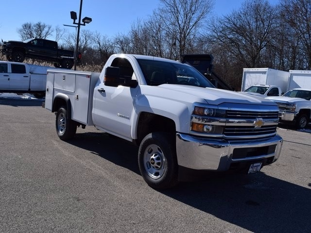 2017 Silverado 2500 Regular Cab 4x4, Monroe Service Body #37833 - photo 4