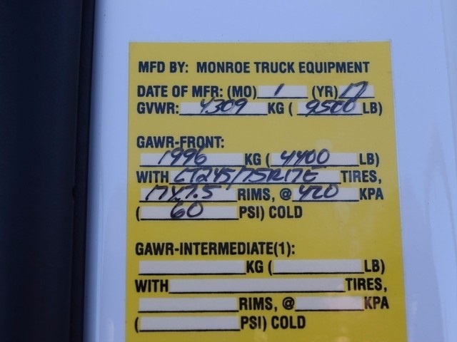 2017 Silverado 2500 Regular Cab 4x4, Monroe Service Body #37833 - photo 26