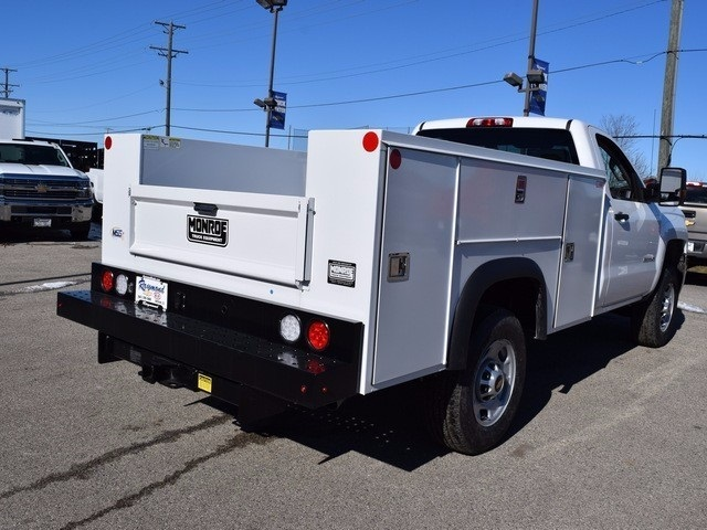 2017 Silverado 2500 Regular Cab 4x4, Monroe Service Body #37833 - photo 2