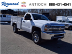 2017 Silverado 2500 Regular Cab 4x4, Monroe Service Body #37833 - photo 1