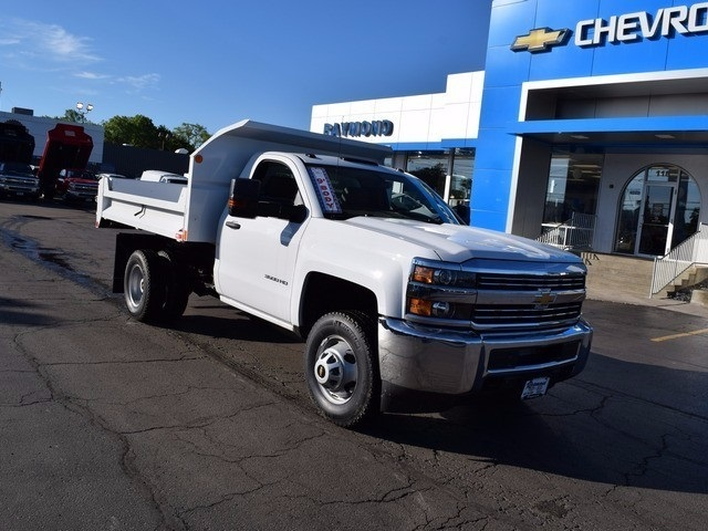 2017 Silverado 3500 Regular Cab 4x4 Dump Body #38202 - photo 10