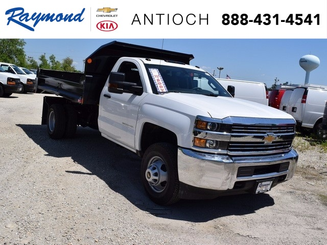 2017 Silverado 3500 Regular Cab DRW 4x4, Monroe MTE-Zee Dump Dump Body #38205 - photo 1
