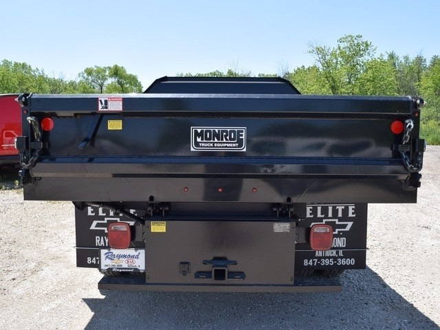 2017 Silverado 3500 Regular Cab DRW 4x4, Monroe MTE-Zee Dump Dump Body #38205 - photo 4