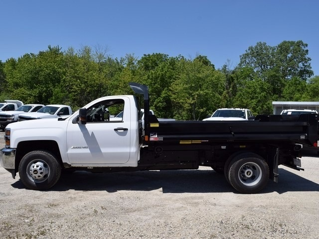 2017 Silverado 3500 Regular Cab DRW 4x4, Monroe MTE-Zee Dump Dump Body #38205 - photo 6