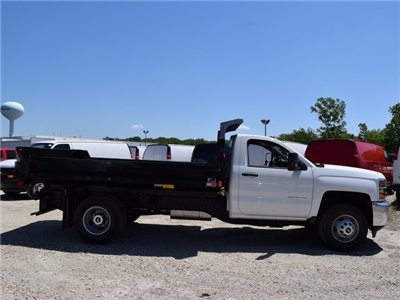 2017 Silverado 3500 Regular Cab DRW 4x4, Monroe MTE-Zee Dump Dump Body #38205 - photo 3