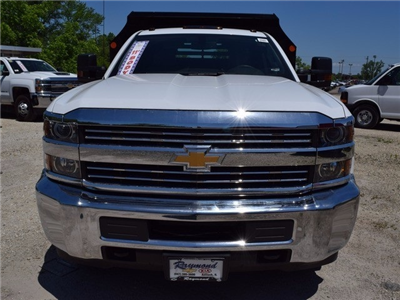 2017 Silverado 3500 Regular Cab DRW 4x4, Monroe MTE-Zee Dump Dump Body #38205 - photo 8