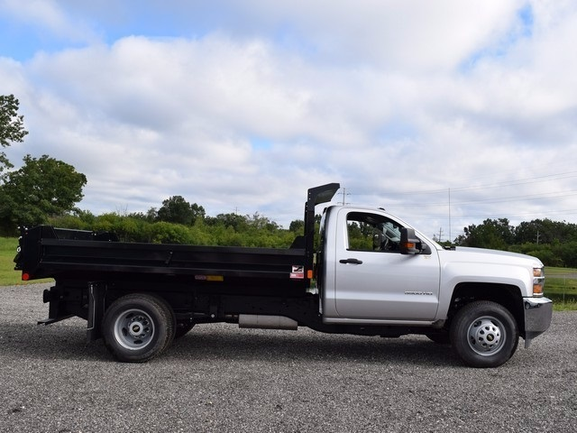 2017 Silverado 3500 Regular Cab 4x4, Monroe Dump Body #38244 - photo 3