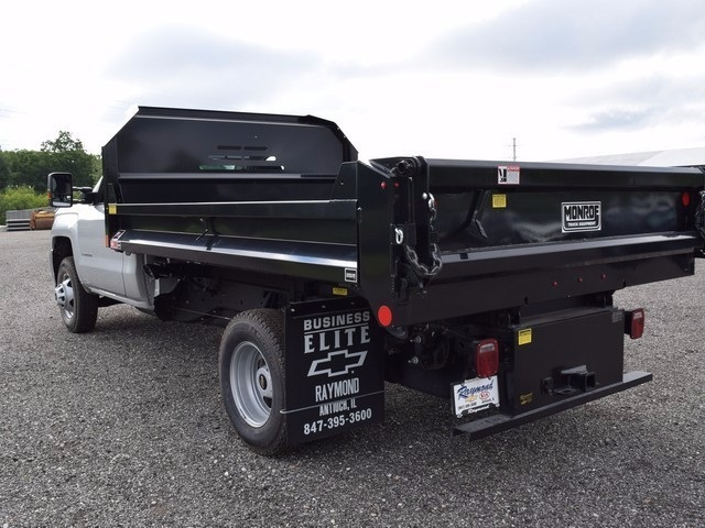 2017 Silverado 3500 Regular Cab 4x4, Monroe Dump Body #38244 - photo 5