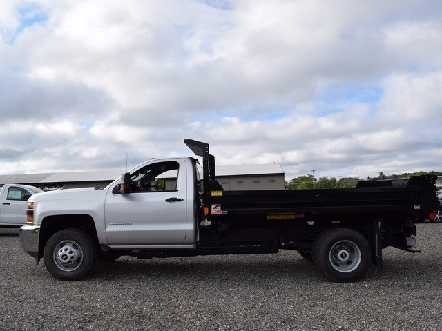 2017 Silverado 3500 Regular Cab 4x4, Monroe Dump Body #38244 - photo 6