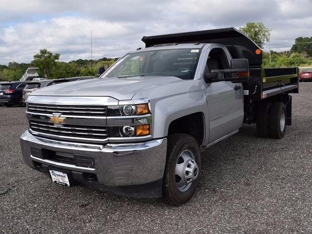 2017 Silverado 3500 Regular Cab 4x4, Monroe Dump Body #38244 - photo 7