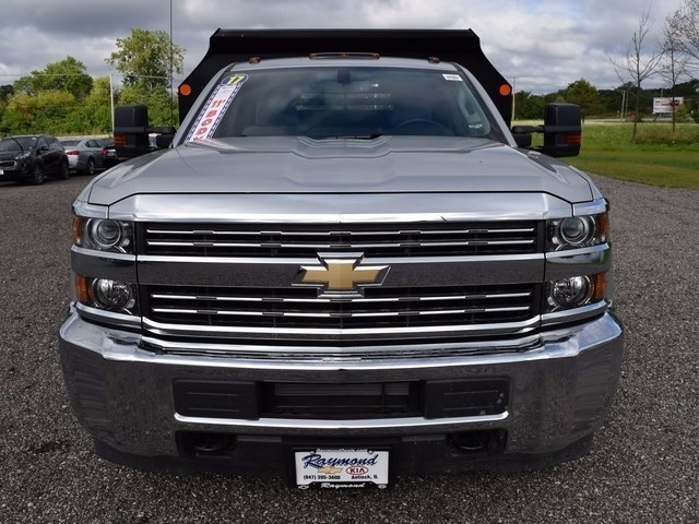 2017 Silverado 3500 Regular Cab 4x4, Monroe Dump Body #38244 - photo 8
