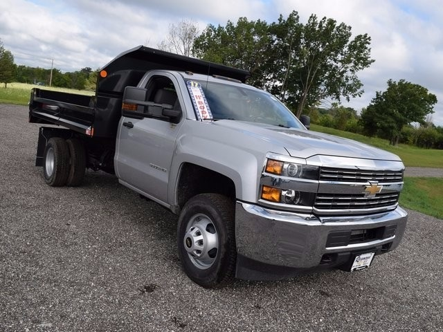 2017 Silverado 3500 Regular Cab 4x4, Monroe Dump Body #38244 - photo 9