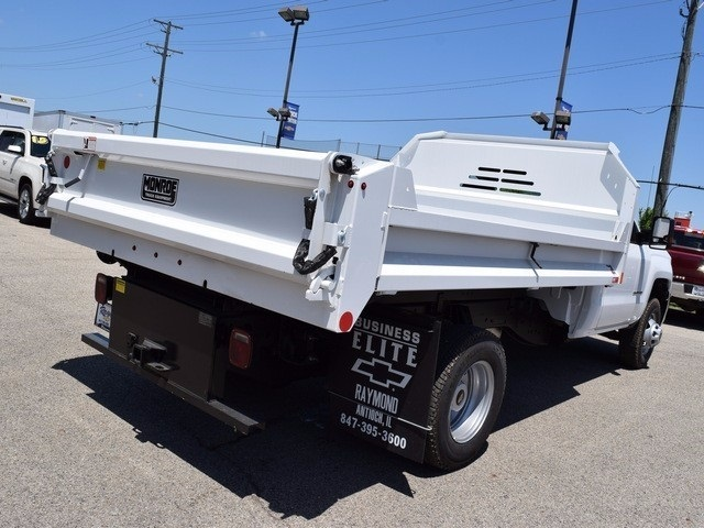 2017 Silverado 3500 Regular Cab DRW 4x4, Monroe MTE-Zee Dump Dump Body #38245 - photo 2
