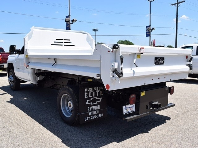 2017 Silverado 3500 Regular Cab DRW 4x4, Monroe MTE-Zee Dump Dump Body #38245 - photo 4
