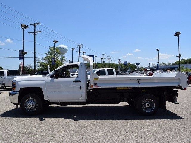 2017 Silverado 3500 Regular Cab DRW 4x4, Monroe MTE-Zee Dump Dump Body #38245 - photo 5