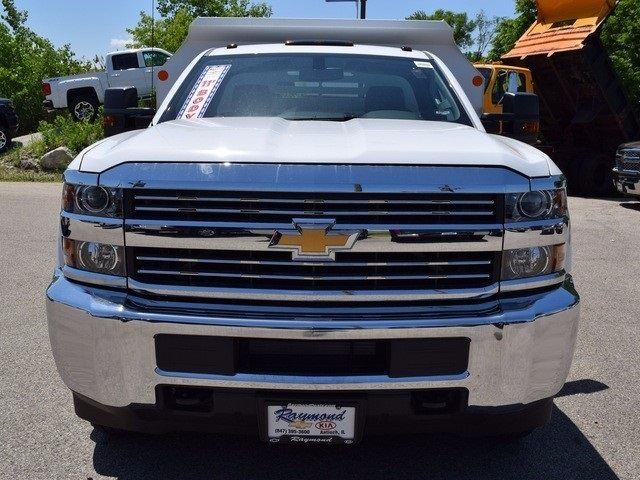 2017 Silverado 3500 Regular Cab DRW 4x4, Monroe MTE-Zee Dump Dump Body #38245 - photo 7