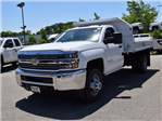 2017 Silverado 3500 Regular Cab DRW 4x4, Monroe MTE-Zee Dump Dump Body #38245 - photo 6