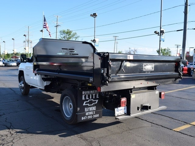 2017 Silverado 3500 Regular Cab DRW 4x4, Monroe Dump Body #38336 - photo 5