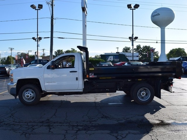 2017 Silverado 3500 Regular Cab DRW 4x4, Monroe Dump Body #38336 - photo 6