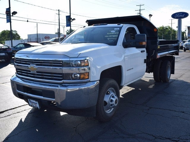 2017 Silverado 3500 Regular Cab DRW 4x4, Monroe Dump Body #38336 - photo 7