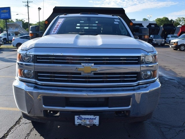 2017 Silverado 3500 Regular Cab DRW 4x4, Monroe Dump Body #38336 - photo 8