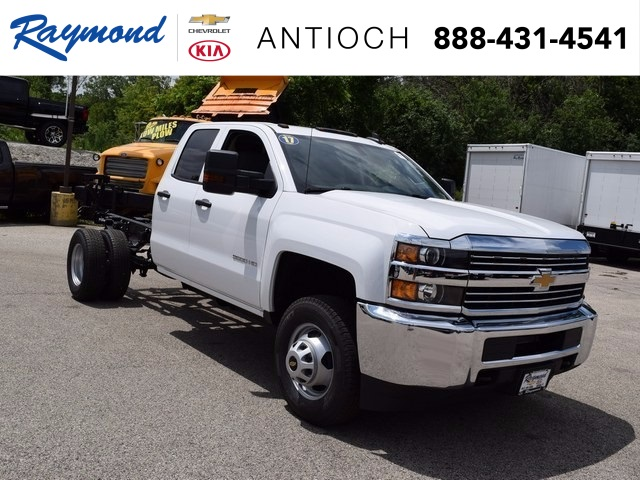2017 Silverado 3500 Double Cab Cab Chassis #38426 - photo 1