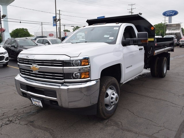 2017 Silverado 3500 Regular Cab 4x4 Dump Body #38489 - photo 7