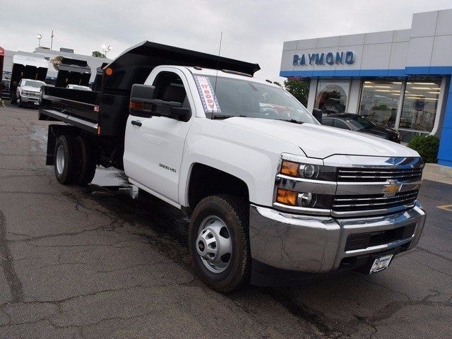 2017 Silverado 3500 Regular Cab 4x4 Dump Body #38489 - photo 9