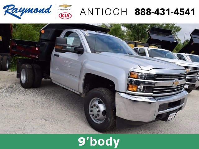 2017 Silverado 3500 Regular Cab DRW 4x4 Dump Body #38508 - photo 11