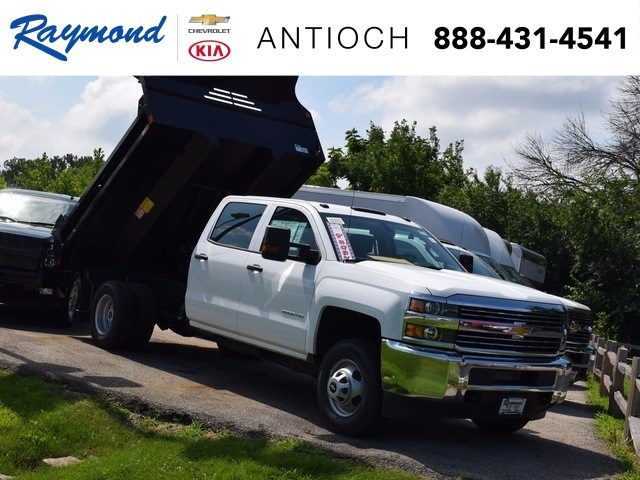 2017 Silverado 3500 Crew Cab DRW 4x4 Dump Body #38550 - photo 1
