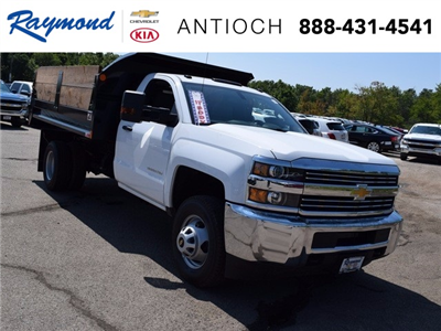 2017 Silverado 3500 Regular Cab DRW Dump Body #38581 - photo 1