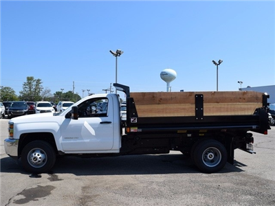 2017 Silverado 3500 Regular Cab DRW Dump Body #38581 - photo 6