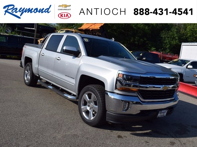 2017 Silverado 1500 Crew Cab 4x4 Pickup #38582 - photo 1