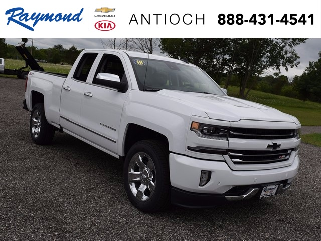 2018 Silverado 1500 Extended Cab 4x4 Pickup #38611 - photo 1