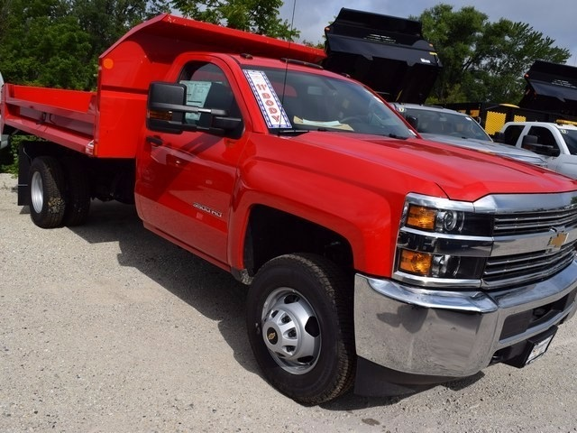 2017 Silverado 3500 Regular Cab 4x4 Dump Body #38615 - photo 11